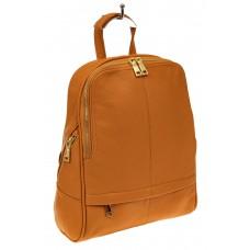 На фото 1 - Городской рюкзак из искусственной кожи, цве...