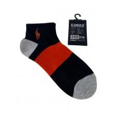 На фото 1 - Молодёжные носки в крупную полоску, мультицвет