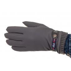 На фото 1 - Перчатки мужские с Touch Screen, цвет серый