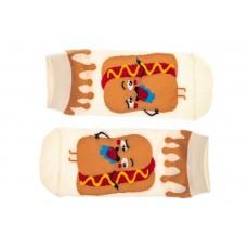 На фото 1 - Носки  с принтом