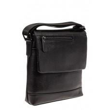 На фото 1 - Мужская сумка под документы, черная