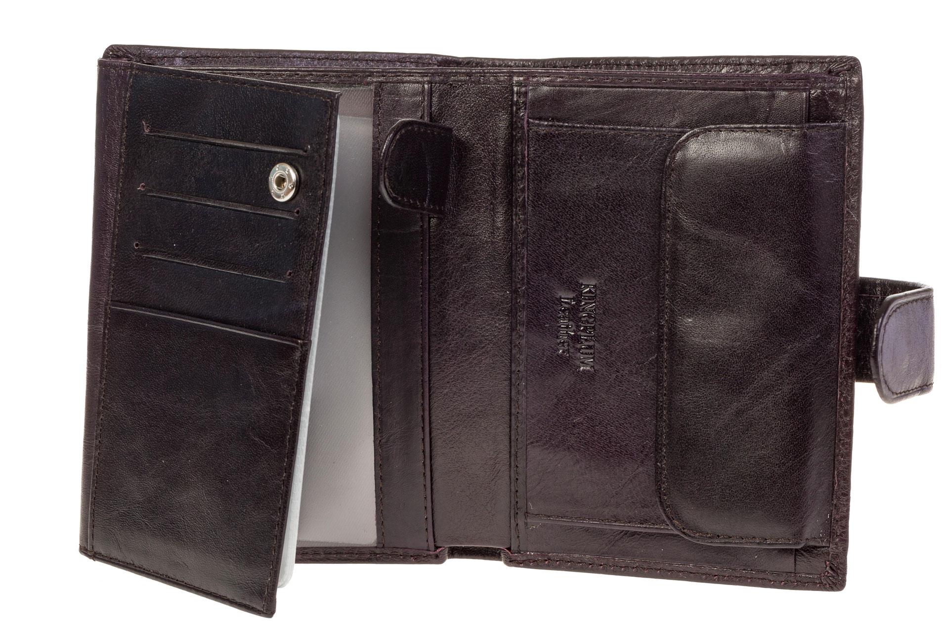 На фото 2 - Портмоне – чехол для документов из натуральной кожи
