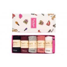На фото 1 - Носки женские, ароматизированные в подарочной упаковке