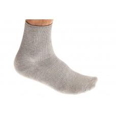На фото 1 - Носки мужские хлопок, размер 25-28, цвет светло-серый