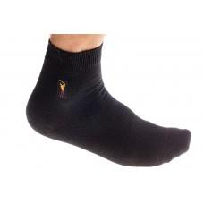 На фото 1 - Купить носки мужские хлопок, размер 25-28, цвет черный
