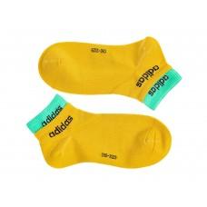 На фото 1 - Спортивные женские носки, цвет горчичный