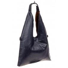 На фото 1 - Двухсторонняя женская сумка из искусственно...