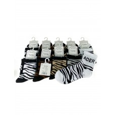 На фото 1 - Женские носки с принтом, 10 пар