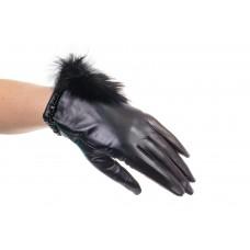 На фото 1 - Модные женские перчатки из натуральной кожи