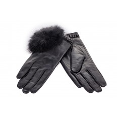На фото 2 - Модные женские перчатки из натуральной кожи