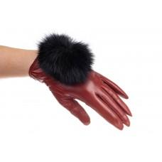 На фото 1 - Перчатки для евро зимы из натуральной кожи