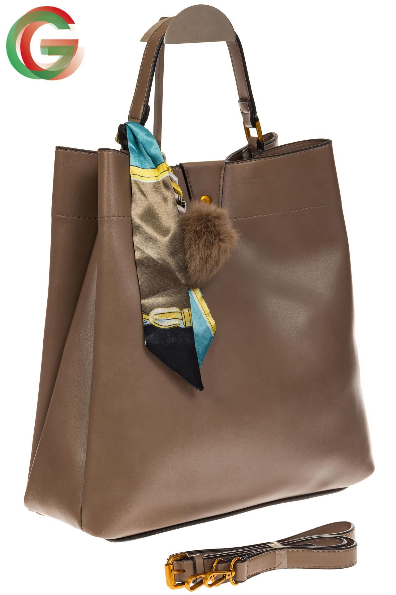 украшаем сумку платком